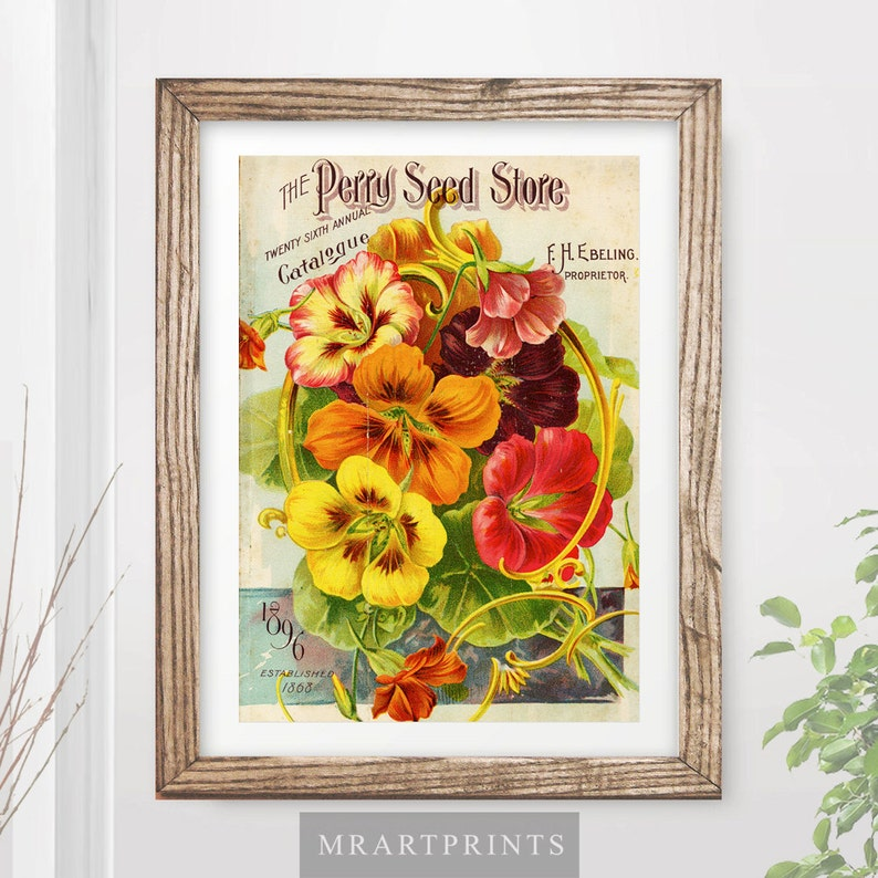 Bathroom Art Print Poster Home Decor Victorian Vintage Illustration Interior Design Wall Photo Picture A4 A3 A2 10 Sizes Home Kitchen Prints