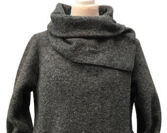 Boiled Wool Jacket Etsy