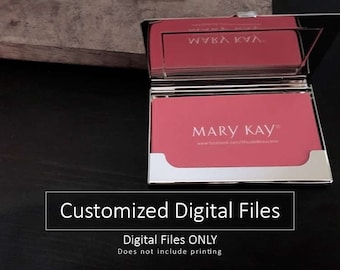 Mary kay business cards etsy mary kay business cards design only no printing digital files colourmoves