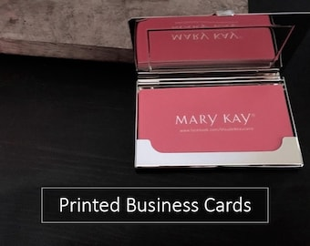 Mary Kay Business Cards | Printed | 100, 250, 500, 1000