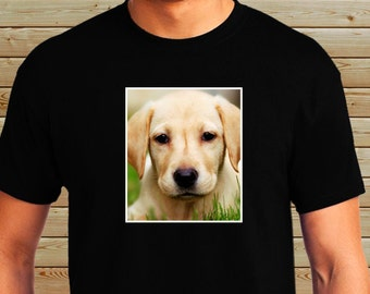 Personalized Custom Picture Shirt - Puppy, Dog, Cat, Pet Photos - Custom Design Tee - Dog Picture T-Shirt