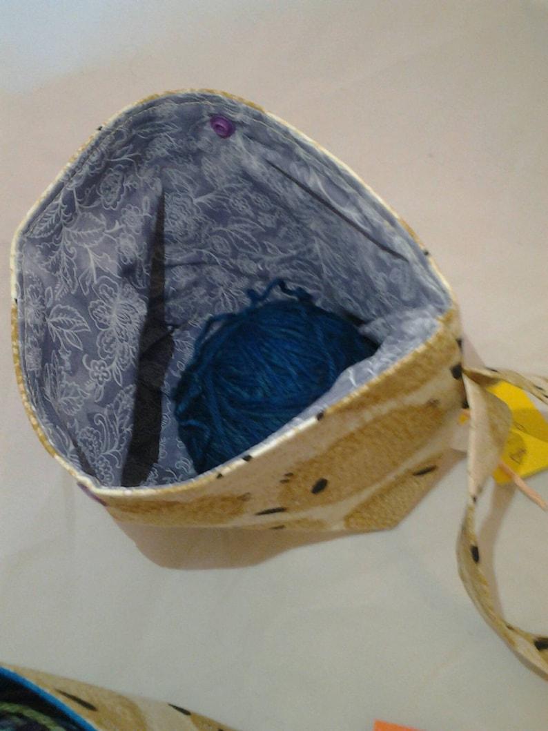 Walking cake bag Sheep bag Cake bag Sheep wool bag Ball Sack bag