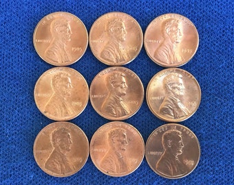 FREE GIFT with your 1 Uncirc 1969 Lincoln Penny 1973 -S Lincoln Cent Awesome