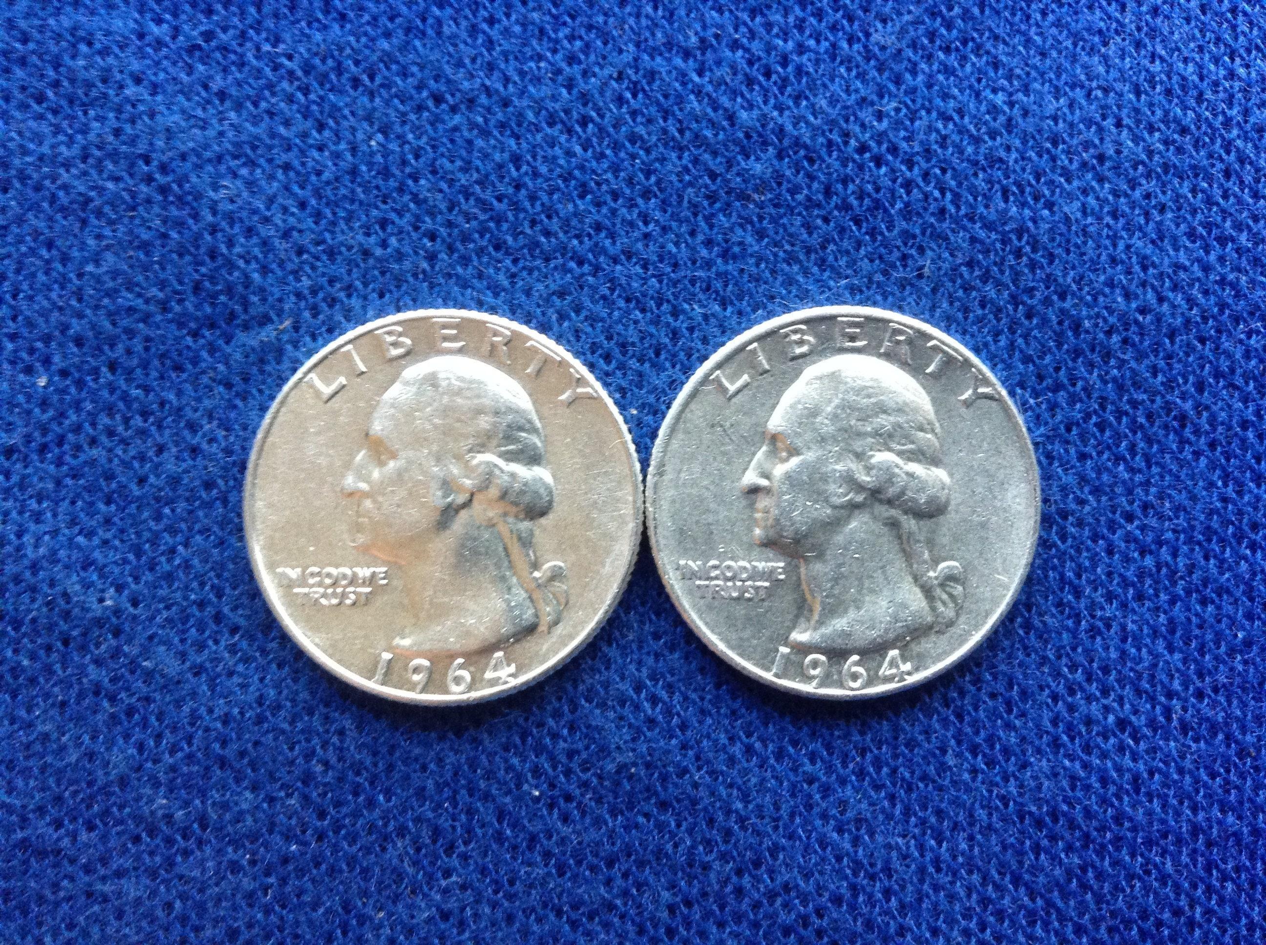 Coins & Paper Money Other Us Coins 1964-d Washington Silver Quarter Less Expensive
