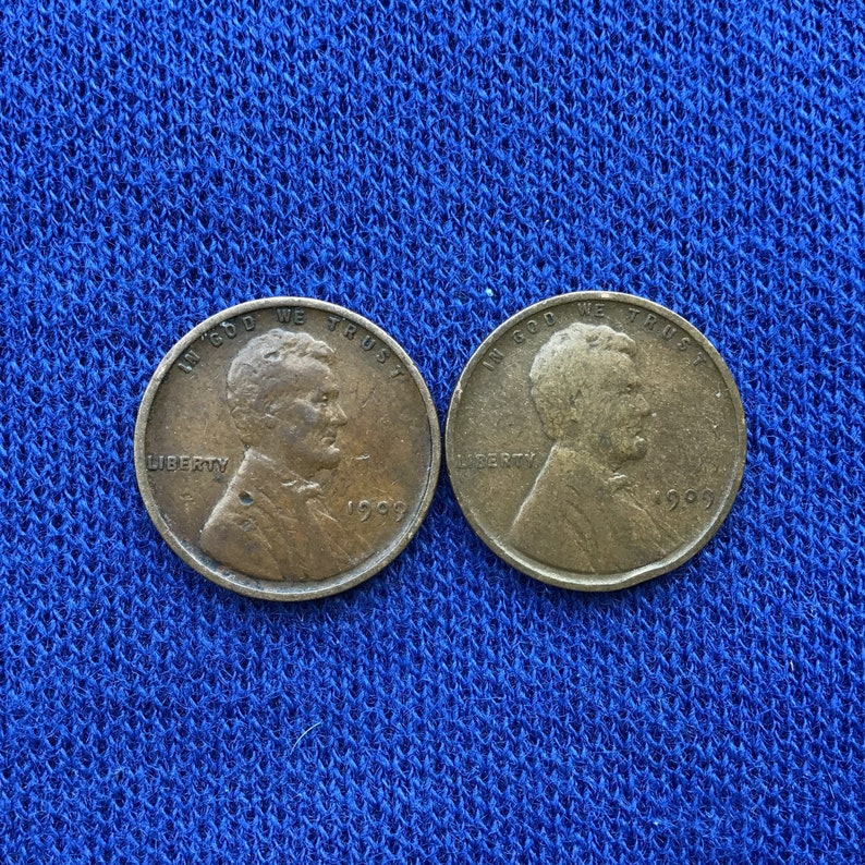 1909 P Lincoln Wheat Penny, Old US Coins for Coin Collecting, Antique  Pennies, Rare Key Date