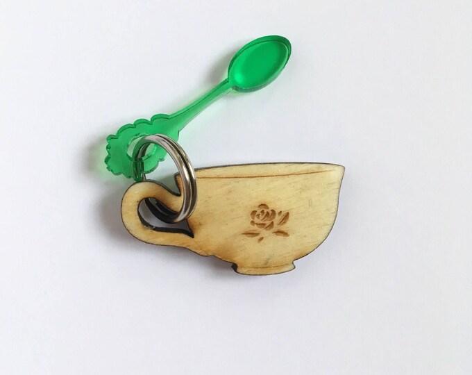 Slice of bread cat tag - poplar wood - Custom Pet ID tags laser cut Cat Tag