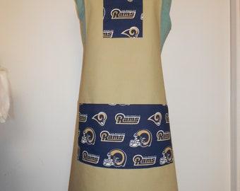 Los Angeles Rams Football Apron 455023c55