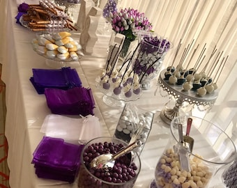 Wedding candy table | Etsy