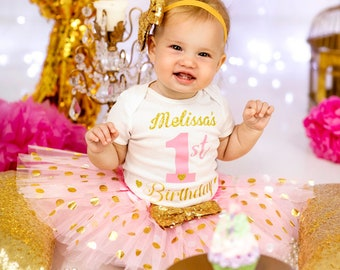 1st Birthday Outfit Girl Etsy