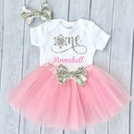 Winter Onederland 1st Birthday Outfit  Snowflake One Birthday First Birthday Tutu Outfit 1st Birthday Girl Outfit PERSONALISED ANY NAME