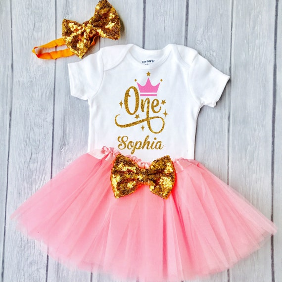 Baby Girl 1st Birthday Outfit.Baby Girl 1st Birthday Outfit First Birthday Girl Outfit 1st Birthday Girl Outfit Birthday Princess Cake Smash Outfit