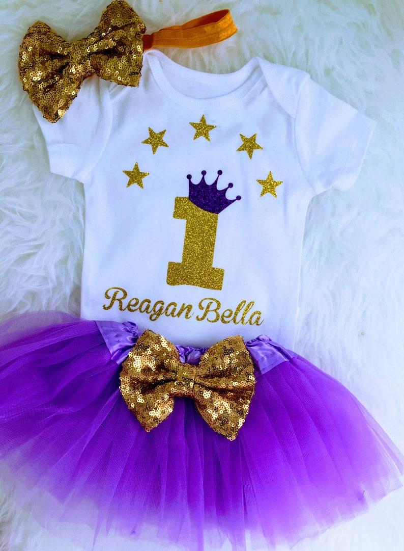 5247f93b7 Lavender & gold 1st birthdayTwinkle little star One year old   Etsy