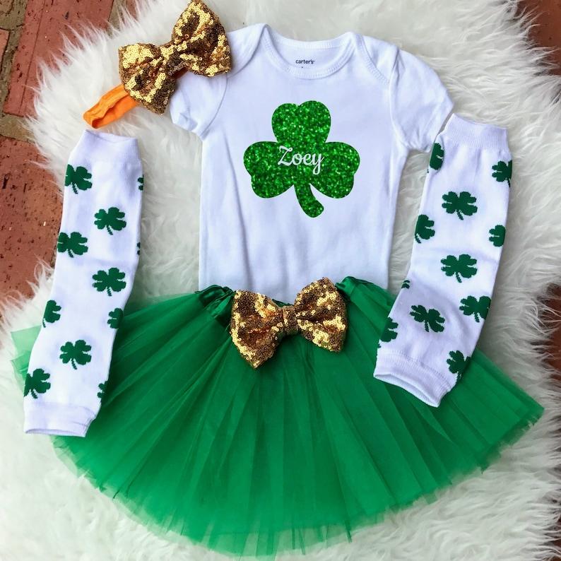 91794b695 Girls St Patricks Day Outfit Girls St. Patricks Day Shirt | Etsy