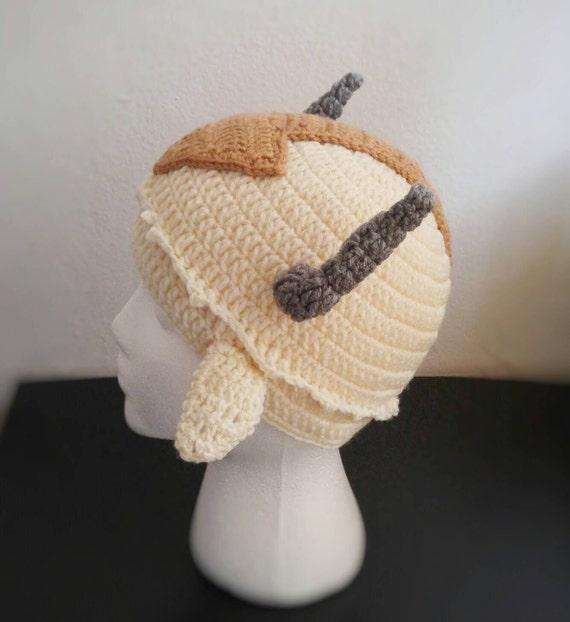 Appa Appa Hat Appa Crochet Flying Bison Avatar The Last Air Etsy