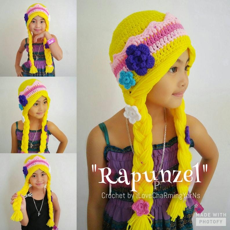 cd80347fcff Rapunzel hat crochet rapunzel hatrapunzel crochet hat