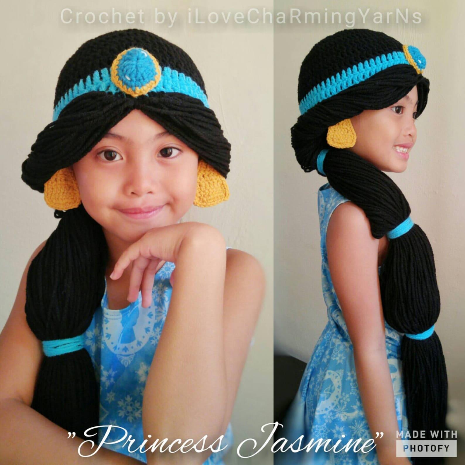 Crochet Jasmine Wig