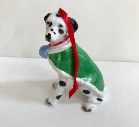 Border Collie Dog Fine Porcelain Christmas Ornament DNC New