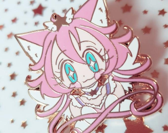 Magical Princess Sky hard enamel pin 25mm - original magical girl