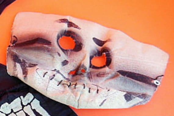 Vintage Halloween Costume, Vintage Skeleton Costu… - image 4