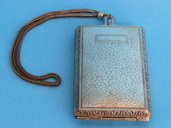 Victorian Wristlet Compact, Dance Compact, Vintage