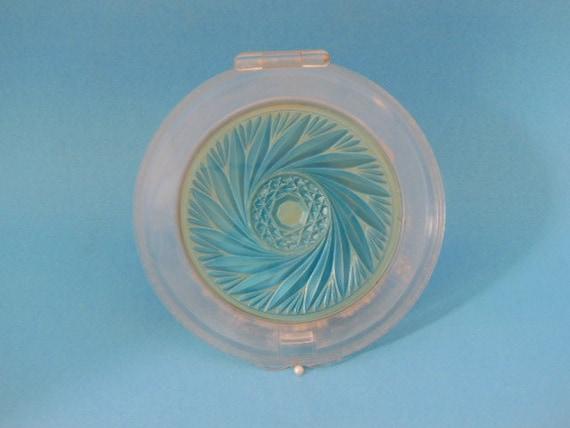 Lucite Compact, Antique Compact Mirror, Vanity Com