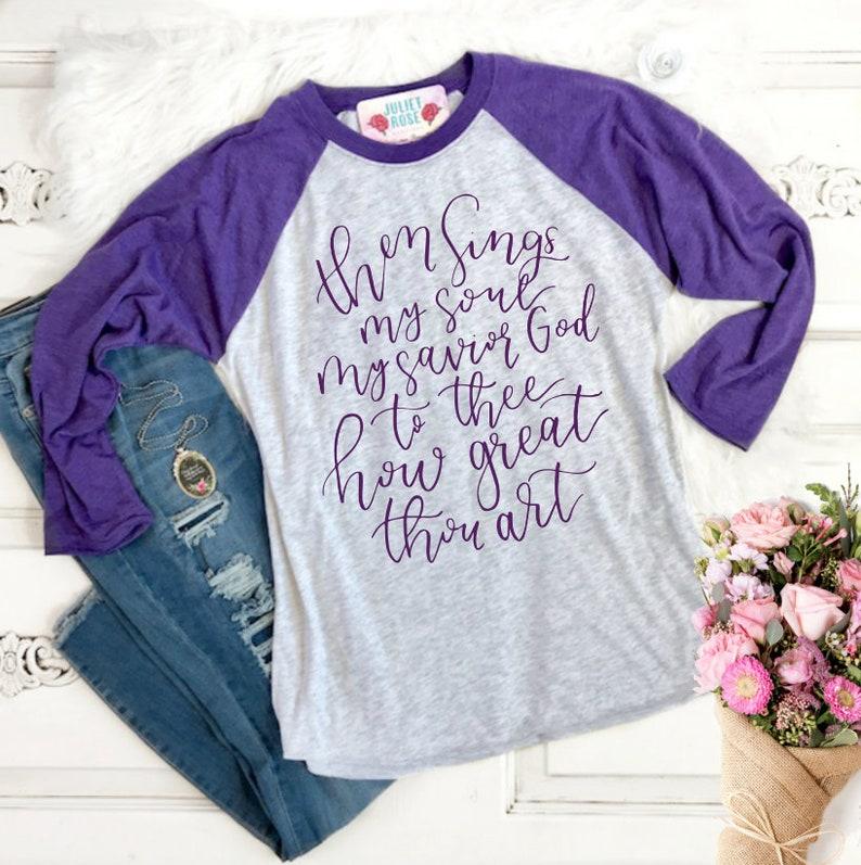 df752dbe Christian Raglan Baseball T-Shirt Christian Shirt for Women | Etsy