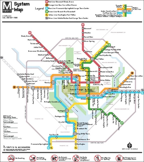 It is an image of Printable Washington Dc Metro Map for stereotype