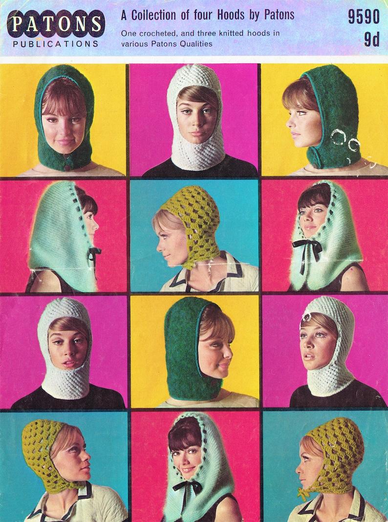 PDF Vintage 1960s Womens Ladies Knitting   Crochet Pattern  8aa48a8e94