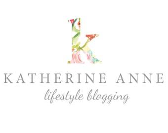 premade blog or blogger header - premade business logo - photography logo