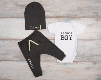 Baby Boy Outfit, New Mom Gift, Baby Boy Clothes, Baby Gift, Mother's Day Boy Outfit, 1st Mother's Day, Baby Boy Outfits
