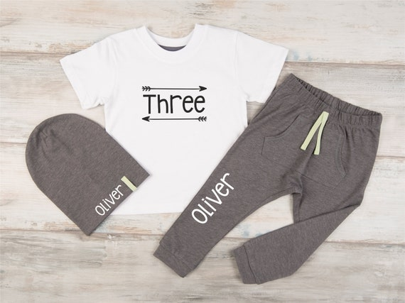 Third Birthday Boy Outfit Boys 3rd Shirt