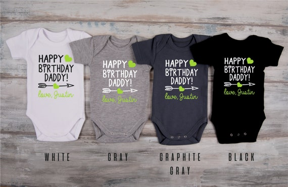 Dad Birthday Gift HAPPY BIRTHDAY DADDY Personalized