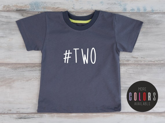 Birthday Shirt 2 Two Year Old T TWO Toddler