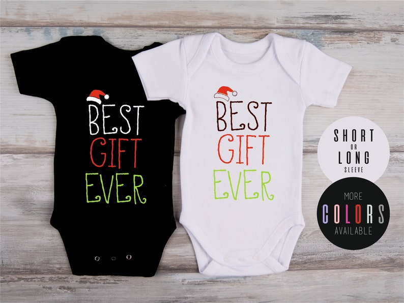 1619a6fea Christmas Newborn Outfit BEST GIFT EVER Baby Outfit
