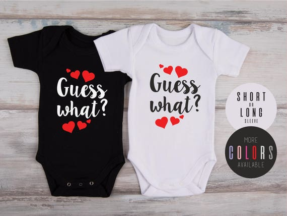 Valentines Pregnancy Announcement One Piece Valentines Etsy