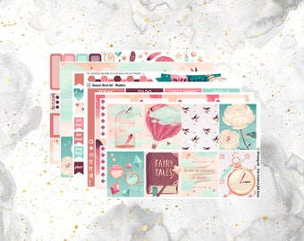 Dreamy Weekly Kit for Erin Condren and Happy Planners- With Optional Add On!