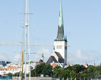 Tallinn medieval old  Estonia Architecture poster Architecture sketch Architecture  Instant Download