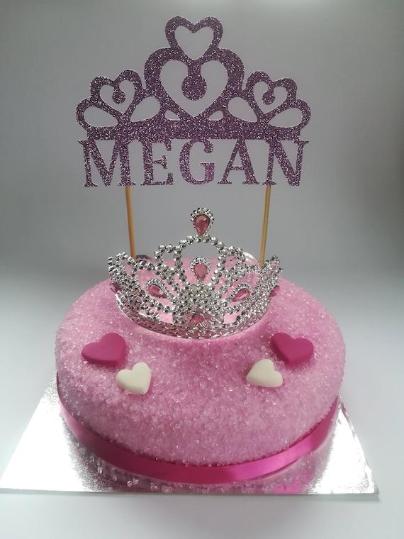 Peachy Princess Cake Topper Personalised Cake Topper 1St Birthday Etsy Personalised Birthday Cards Paralily Jamesorg