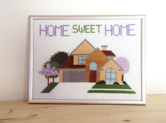 Home Sweet Home Schema A Punto Croce Download Istantaneo Casa Dolce Casa