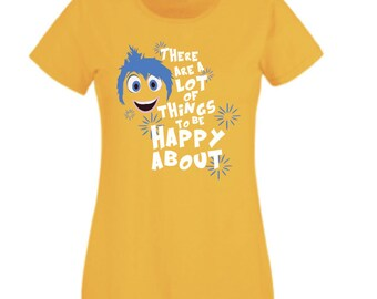 T shirt inside out Joy Joy