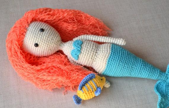 Pop Ariel Haak Haak Disney Doll Zeemeermin Amigurumi Ariel Etsy