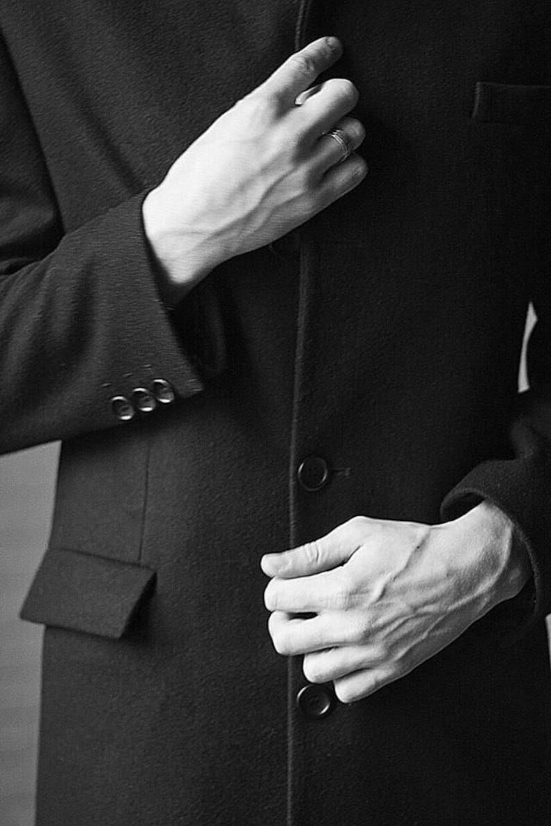 promo code 96c7c 85991 Schwarzer Mantel, schwarzen Mantel Männer, wolle Mantel Männer, wolle  Mantel Männer, Herren langen Mantel, Herren-Mantel, Einbau Mantel, wolle  Mantel, ...