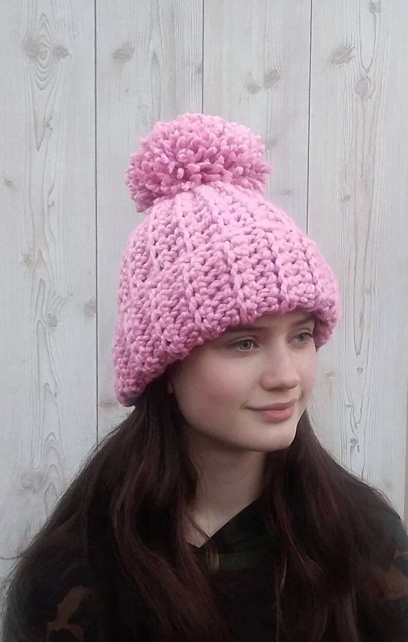d4293654d1a79 Super Chunky Hat Ladies Winter Hat Super Chunky Beanie
