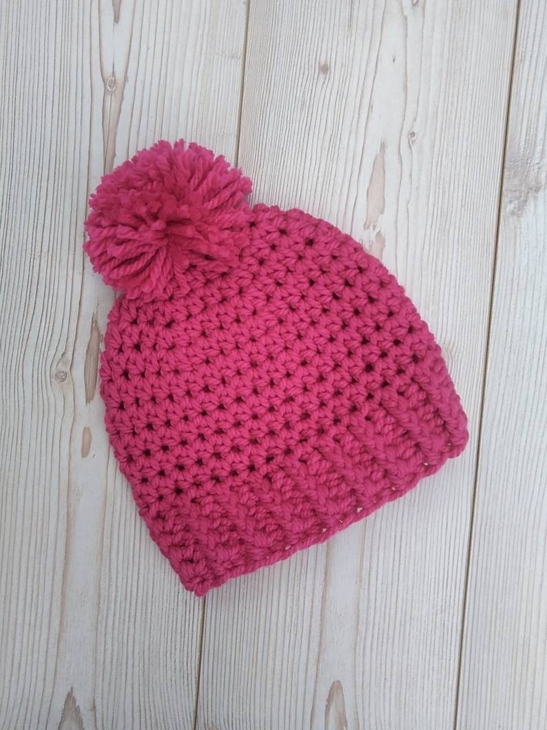 Clothing, Shoes & Accessories Kids' Clothing, Shoes & Accs Christmas Hand Knitted Bobble Hat One Size
