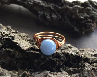 Angelite Ring