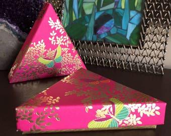Triangle Handmade Gift Box