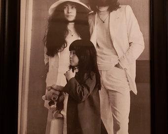 0cdcf2f3835 John Lennon and Yoko Ono Wedding Photo from 1969