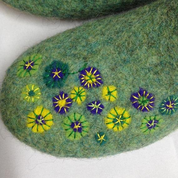 en de Les la chaussures maison femmes laine pantoufles feutr qwfx7z