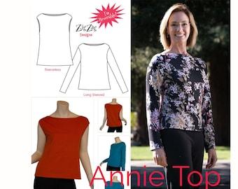 Annie Top - PDF Pattern