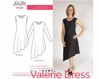 Valerie Dress - PDF Sewing Pattern